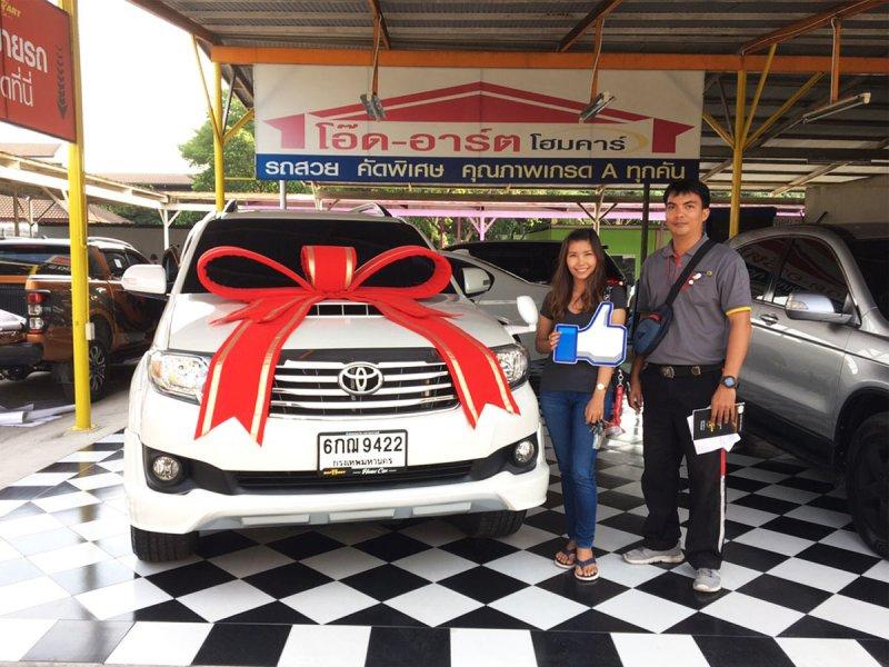 2013 Toyota Fortuner 3.0 V 4WD