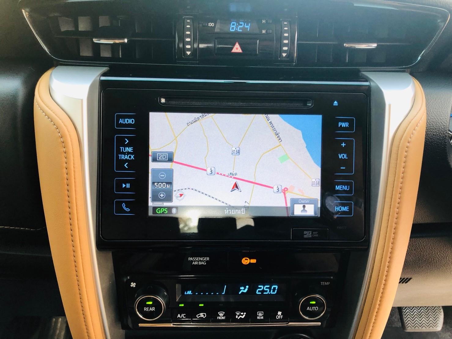 ภาพจอแสดงผล โตโยต้า ฟอร์จูนเนอร์ 2.8 V 4WD ปี 2016