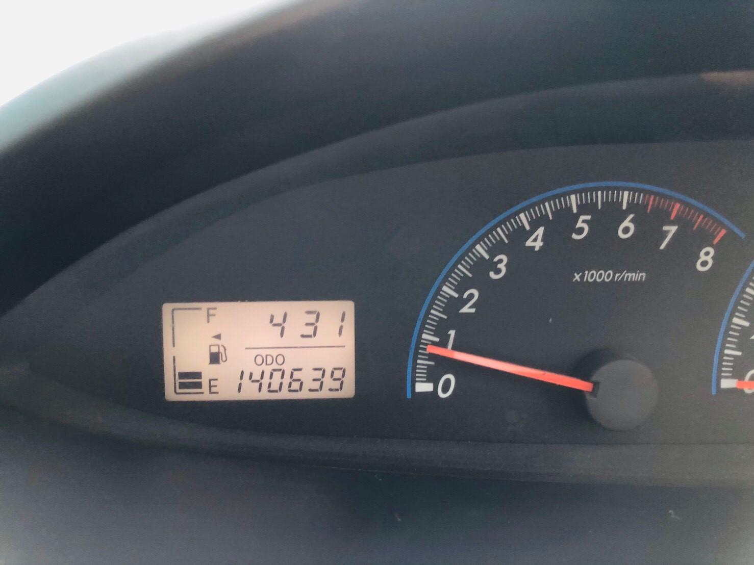 ภาพหน้าปัดเลขไมล์ โตโยต้า วีออส 1.5 E ABS ปี 2007