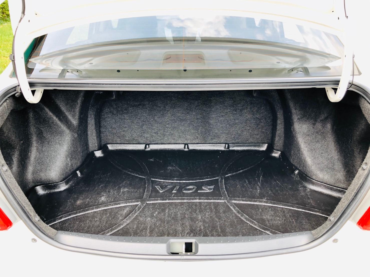 ภาพท้าย โตโยต้า วีออส 1.5 ABS AIRBAG ปี 2011