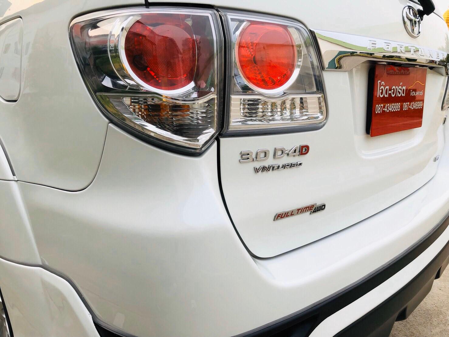ภาพไฟท้าย โตโยต้า ฟอร์จูนเนอร์ 3.0 V 4WD ปี 2013