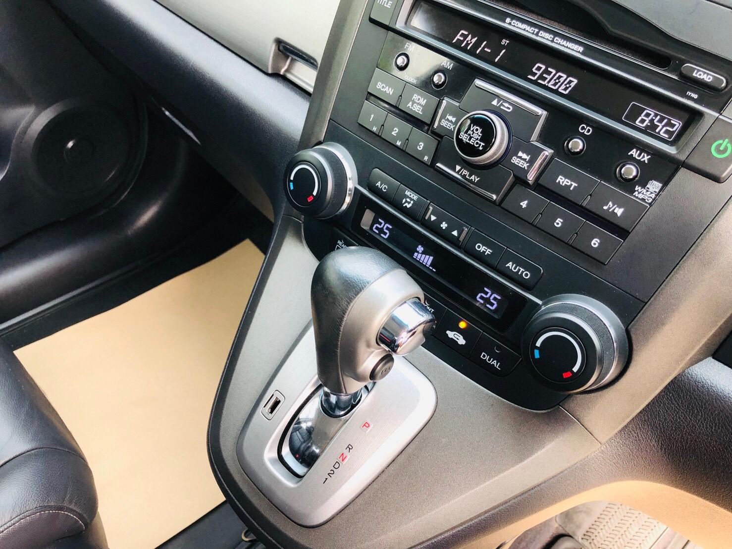 ภาพเกียร์ ฮอนด้า ซีอาร์-วี 2.0 E 4WD ปี 2011