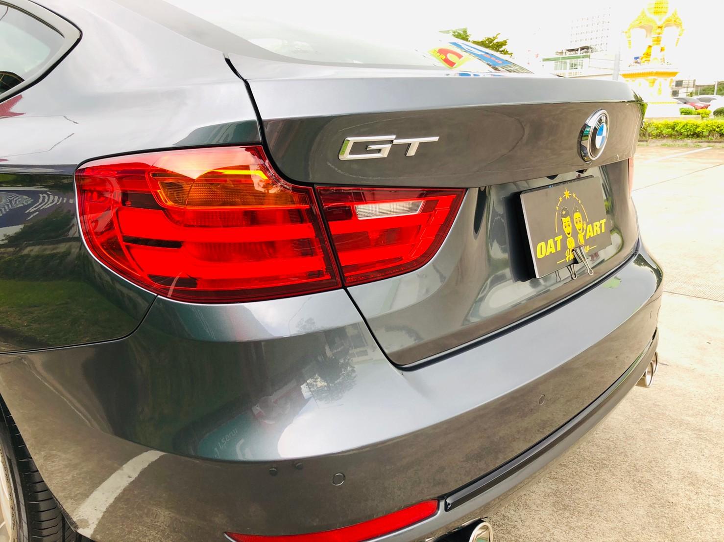 ภาพไฟท้าย บีเอ็มดับบลิว ซีรีส์ 3 320D Gt Sport ปี 2015