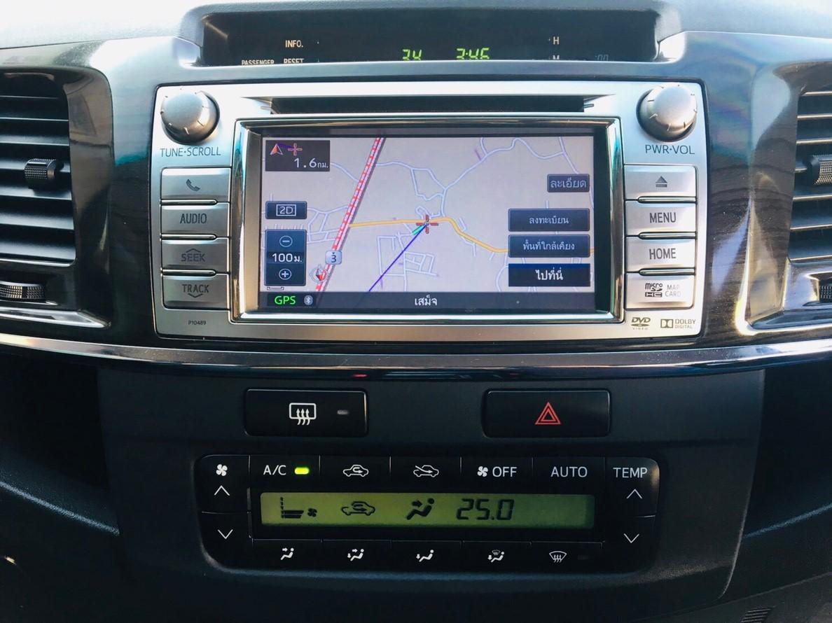 ภาพเครื่องเสียง โตโยต้า ฟอร์จูนเนอร์ 3.0 V 2WD ปี 2015