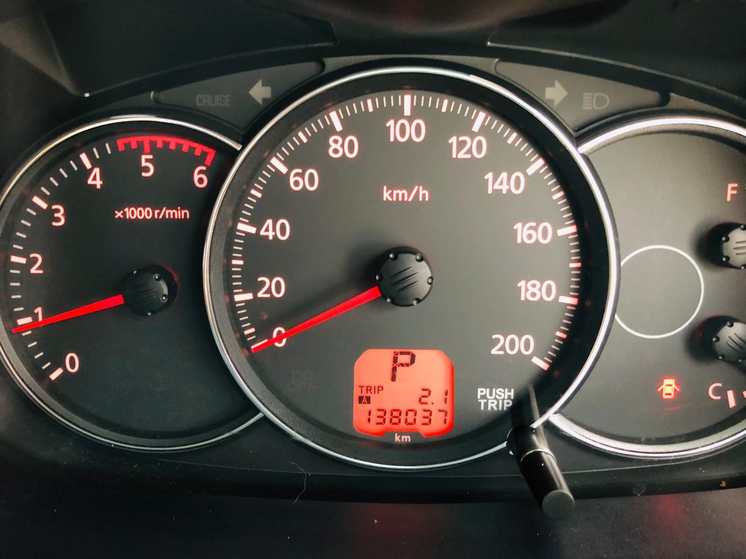 ภาพหน้าปัดเลขไมล์ มิตซูบิชิ ปาเจโร่ สปอร์ต 2.5 GT 2WD ปี 2013