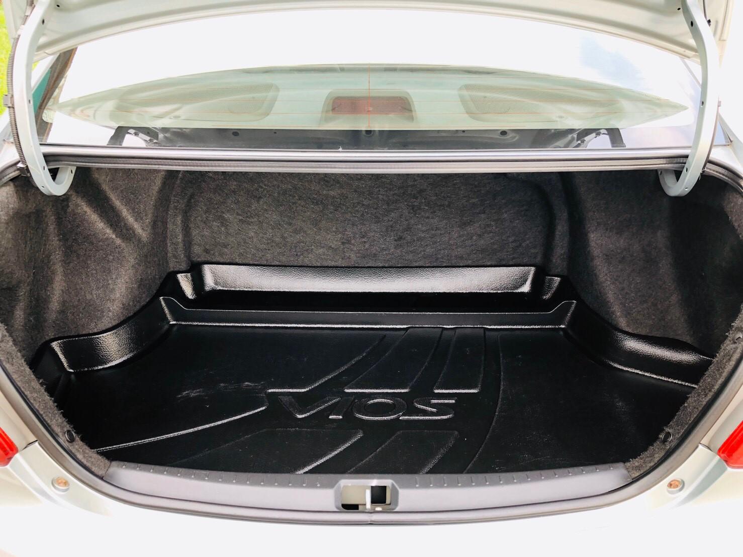 ภาพท้ายรถ โตโยต้า วีออส 1.5 E ABS ปี 2007