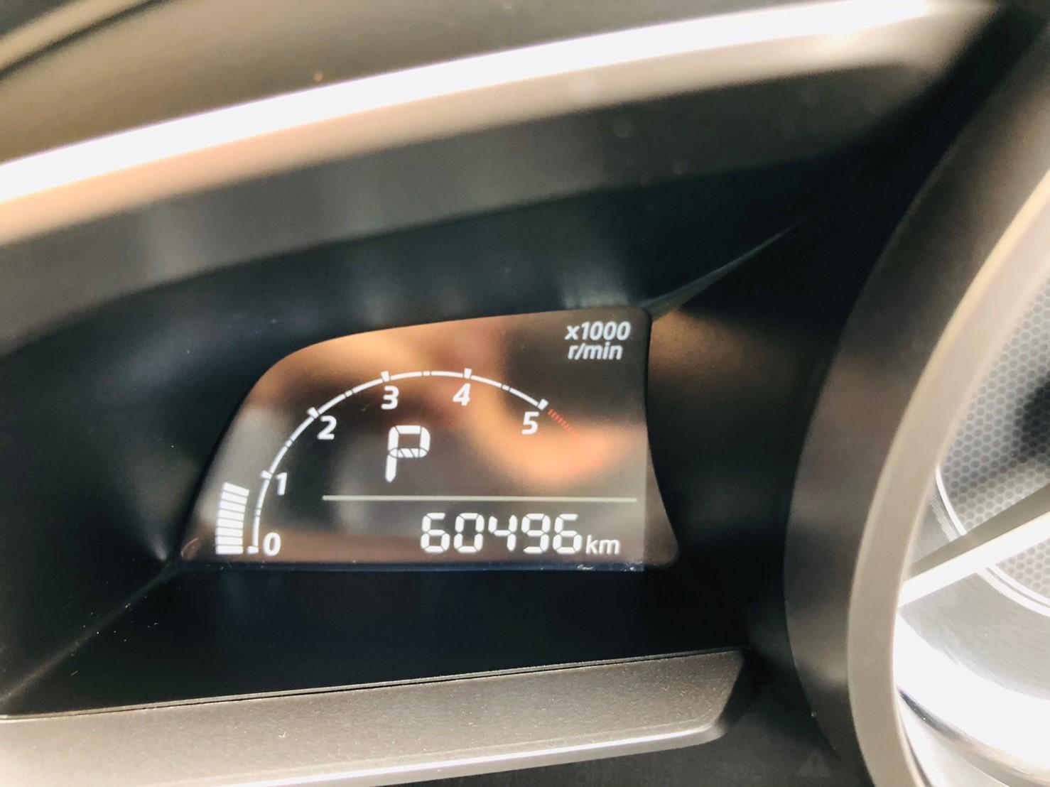 ภาพหน้าปัดเลขไมล์ มาสด้า 2 1.5 XD Hight Auto Dissel ปี 2016