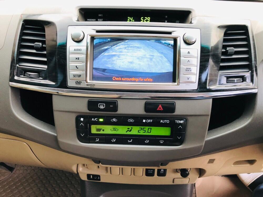 ภาพเครื่องเสียง โตโยต้า ฟอร์จูนเนอร์ 3.0 V 2WD ปี 2013