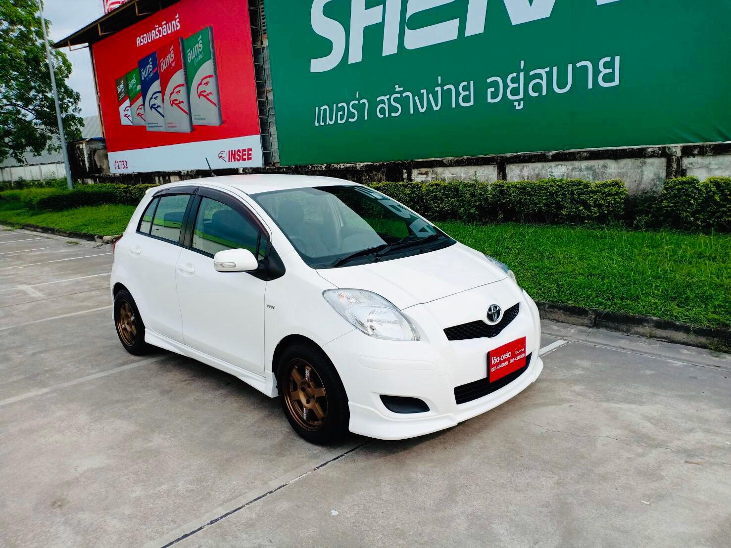2012 Toyota Yaris 1.5 E Limited