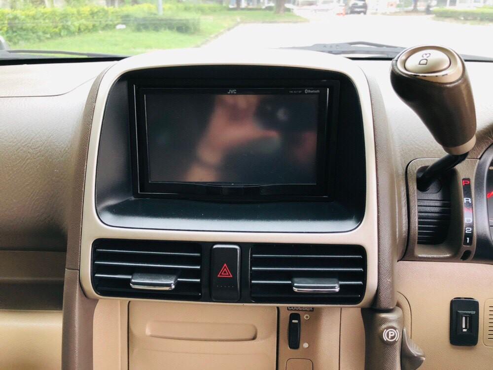 ภาพหน้าจอแสดงผล ฮอนด้า ซีอาร์-วี 2.4 EL 4WD ปี 2006