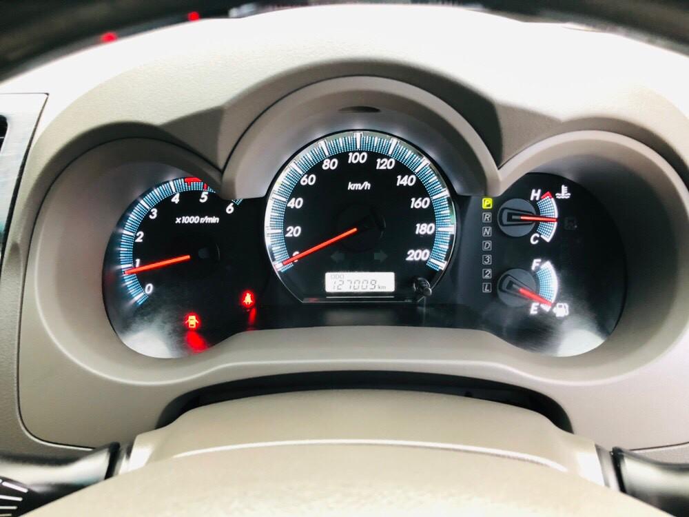ภาพหน้าปัดเลขไมล์ โตโยต้า ฟอร์จูนเนอร์ 3.0 V 2WD ปี 2013