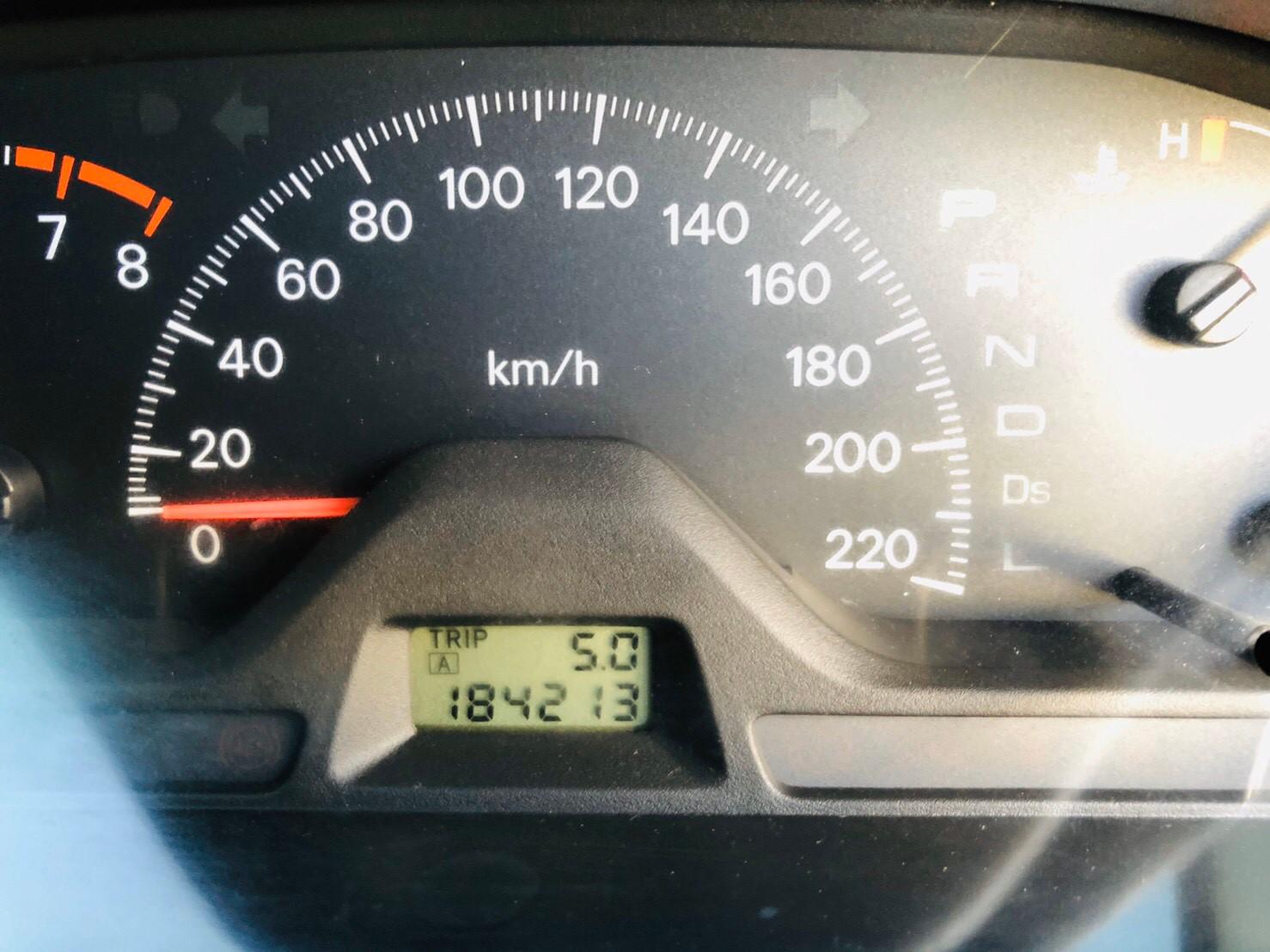 ภาพหน้าปัดเลขไมล์ มิตซูบิชิ แลนเซอร์ 1.6 SEI ปี 2008