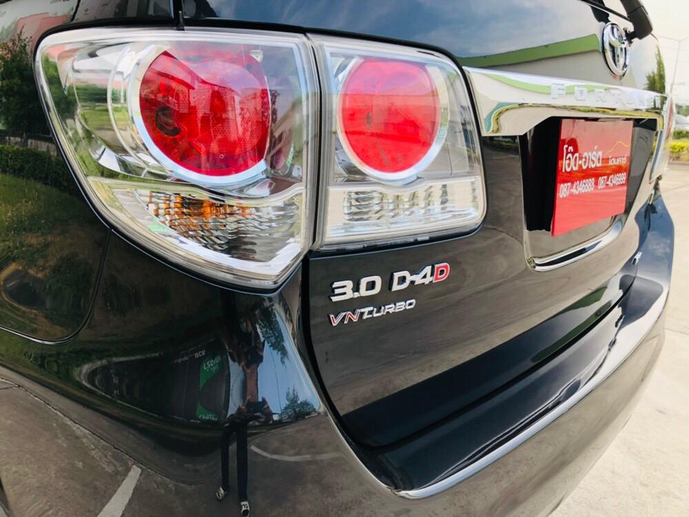 ภาพไฟท้าย โตโยต้า ฟอร์จูนเนอร์ 3.0 V 2WD ปี 2013