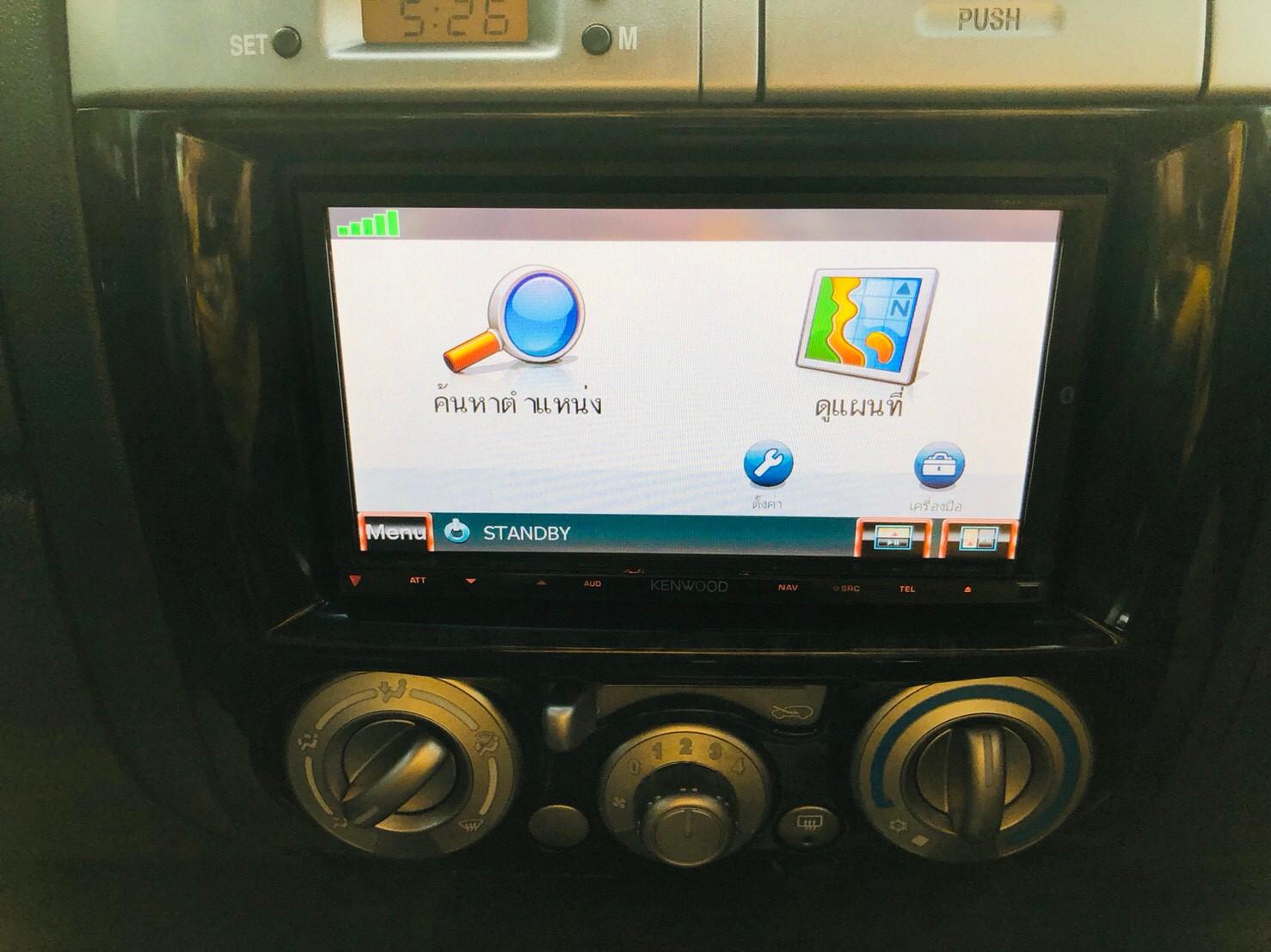 ภาพเครื่องเสียง อีซูซุ มิว-เซเว่น Choiz 3.0 VGS ปี 2011