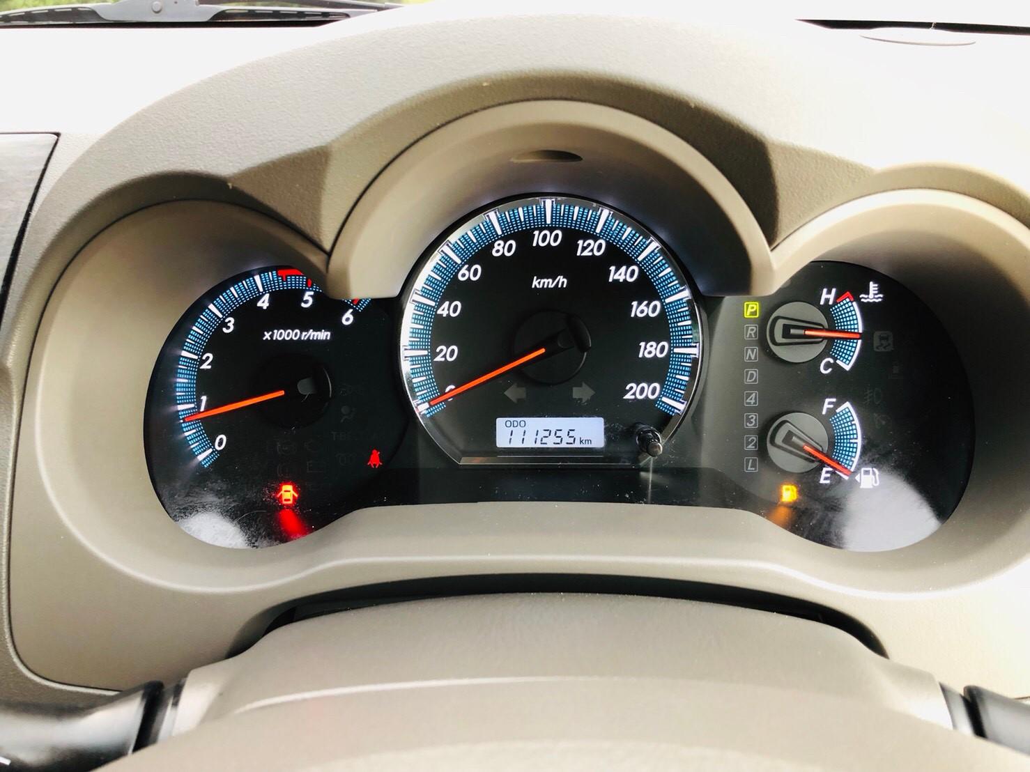 ภาพหน้าปัดเลขไมล์ โตโยต้า ฟอร์จูนเนอร์ 3.0 V 4WD ปี 2013