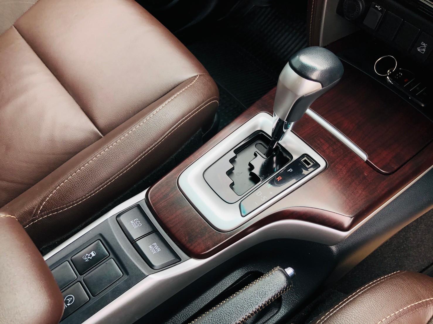 ภาพเกียร์ โตโยต้า ฟอร์จูนเนอร์ 2.4 V 4WD ปี 2018