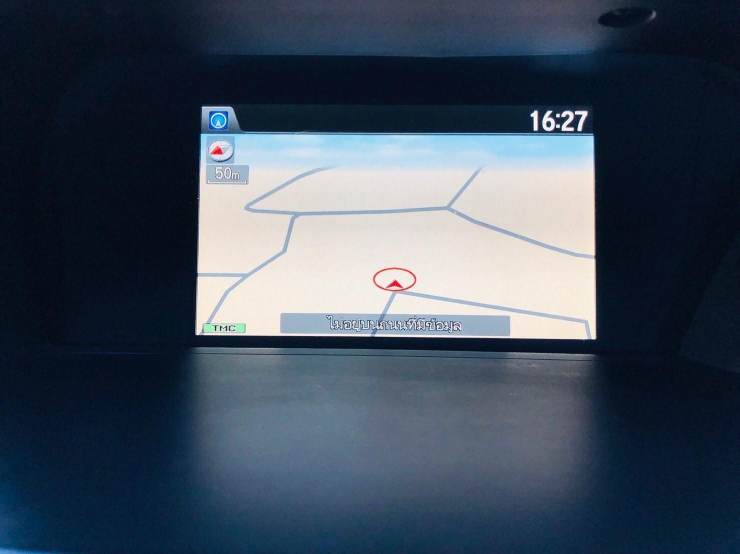 ภาพระบบนำทาง ฮอนด้า แอคคอร์ด 2.4 EL ปี 2013